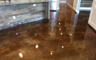 Acid Stained Concrete Midlothian, Texas