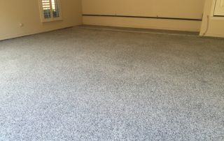 Garage Epoxy Chip Flooring Frisco Texas