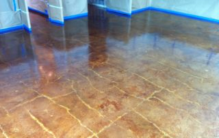 Stained Concrete Highland Park Texas