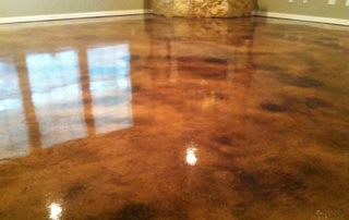 Micro Finish Concrete Overlay Acid Stain