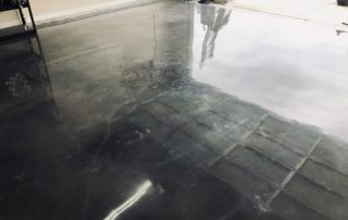 Polished Concrete Garage Midlothian Texas