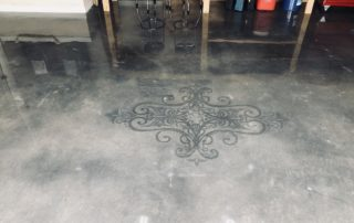 Polished Concrete Stencil Midlothian Texas