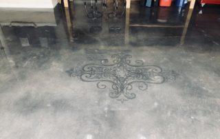 Polished Concrete Stencil Midlothian Texas