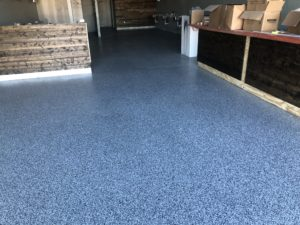 Garage Epoxy Chip Flooring Midlothian, Texas
