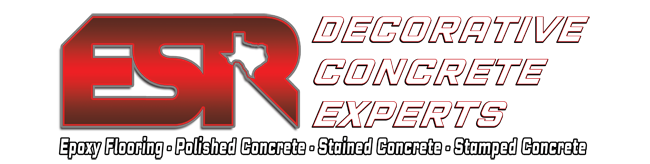 ESR Decorative Concrete Experts Logo