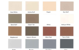 Stamped Concrete Color Chart